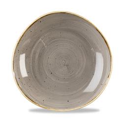 Fine Dine miska o organicznym kształcie Peppercorn Grey 253 mm - kod SPGSOGB11