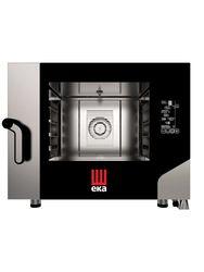 Piec piekarniczo-cukierniczy Black Mask 4 x 600 x 400 elektryczny, z bezpośrednim natryskiem - kod MKF464BM