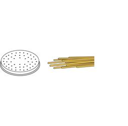 Końcówka do spaghetti do maszynki do makaronu kod 201619 i 201596 - kod 229484