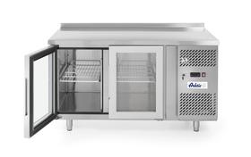 Stół chłodniczy 2-drzwiowy przeszklony z agregatem bocznym - kod 233429