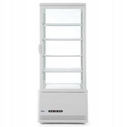 Witryna chłodnicza nastawna biała 98 l - kod 233665