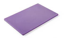 Deska do krojenia HACCP - 450 x 300 fioletowa dla alergików - kod 825570