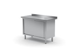 Stół szafką z drzwiami suwanymi 1500x700 - kod 127 157