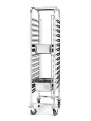Wózek 15-półkowy - do transportu blach - 15 x GN 1/1 - kod 810613