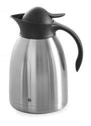 Termos stalowy do kawy z przyciskiem 1,5 l - kod  446607