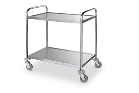 Wózek cateringowy  2-półkowy wzmocniony - kod 810002