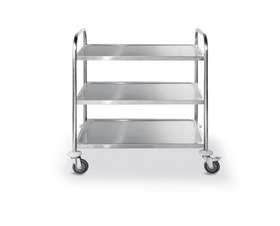 Wózek cateringowy 3-półkowy wzmocniony - kod 810101