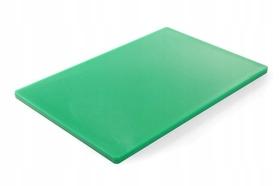 Deska do krojenia HACCP - 600 x 400 zielona do warzyw - kod 825631