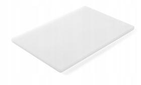 Deska do krojenia HACCP - 450 x 300 biała do nabiału - kod 825518