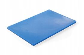 Deska do krojenia HACCP - 450 x 300 niebieska do ryb - kod 825532