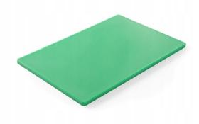 Deska do krojenia HACCP - 450 x 300 zielona do warzyw - kod 825549