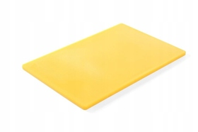 Deska do krojenia HACCP - 450 x 300 żółta do drobiu surowego - kod 825563