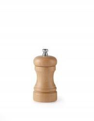Młynek do pieprzu – drewno jasne - wysokość 100 mm - kod 469408
