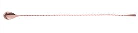 Łyżka barmańska miedziana - dł. 450 mm - kod 593325