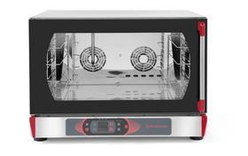 Revolution Piec piekarniczy z nawilżaniem sterowanie elektroniczne 4x 600x400 mm lub GN 1/1 kod 227794