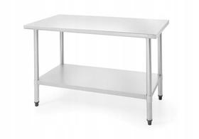 Revolution Stół roboczy ze stali nierdzewnej 1200x600x(H)850 - kod 811375