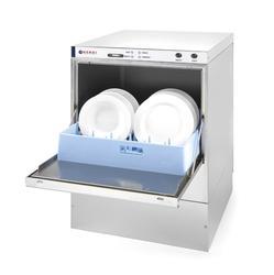 Zmywarka do naczyń 50x50 z dozownikiem detergentu i pompą spustową 400 V Hendi -  kod 233054