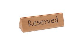"""Tabliczka informacyjna """"Rezerwacja""""- kod 664308"""