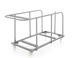 Wózek do transportu stołów cateringowych 1800x850x(h)990   mm - kod 811221
