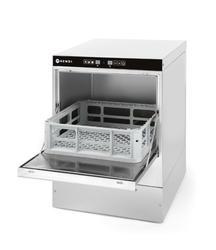 Zmywarka do szkła 40x40 z -sterowanie elektroniczne  Hendi 3 programy mycia - kod 230268