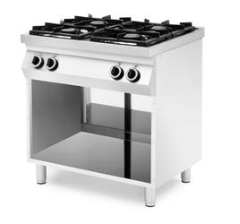Kuchnia gazowa 2x 3,5kW + 2x 6kW  - kod 227596