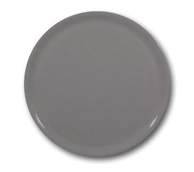 Talerz do pizzy Speciale porcelanowy szary 330 mm - kod 774854