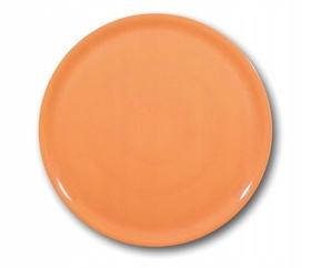 Talerz do pizzy Speciale porcelanowy pomarańczowy 330 mm - kod 774878