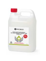 Płyn antywirusowy do dezynfekcji skóry rąk Hendi 5l - 237304