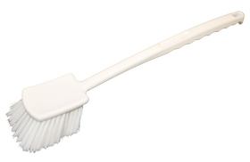 Szczotka z długim uchwytem - HACCP - biała - kod 592315028