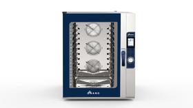 Piec konwekcyjno-parowy Hendi Nano Max Bakery z ekranem dotykowym 10x 600x400 - kod 219225